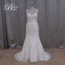Mermaid Applique Bridal Gown Wedding Dress