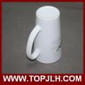 Spécial café céramique Mug 17 oz tasse en cône blanc