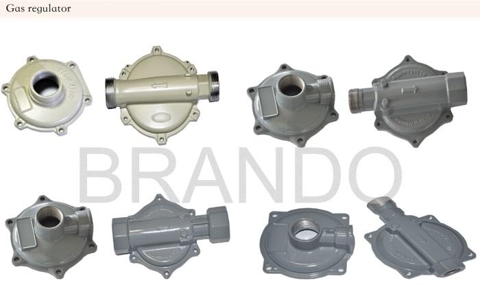 aluminum die casting valve caps