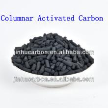 Charbon actif extrudé à base de charbon