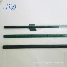 Poteau électrique de clôture de forme de U de 1.2m bon marché