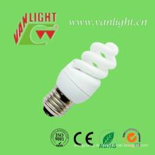 Hohe Effizienz T3 Vollspirale CFL 9W Energey Glühbirne sparen