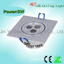 3w/5w/7w/9w hot sale led Black Ceiling Light Fixtures with CE&ROHS