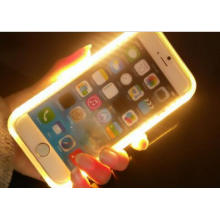 Luz de LED Smart Phone Case para iPhone 6/6plus
