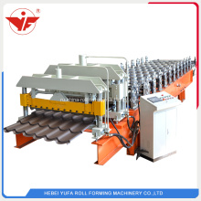 Aluminum+roofing+step+tile+roll+forming+machine