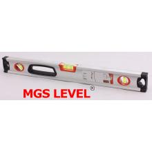 Aluminio Plata Nivel de caja profesional (700909)