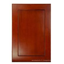 Porte d'armoire de cuisine en bois massif (HLsw-2)