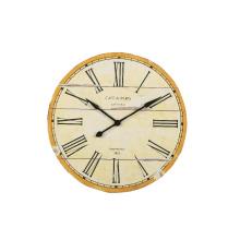 Horloge murale blanche