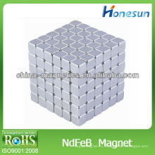 Неодимовый магнит n40 много кубовидной