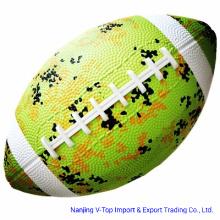 Light Green Rubber American Football Toys