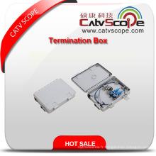 Boîte à bornes W-2b FTTX de haute qualité / boîte de distribution de fibre optique