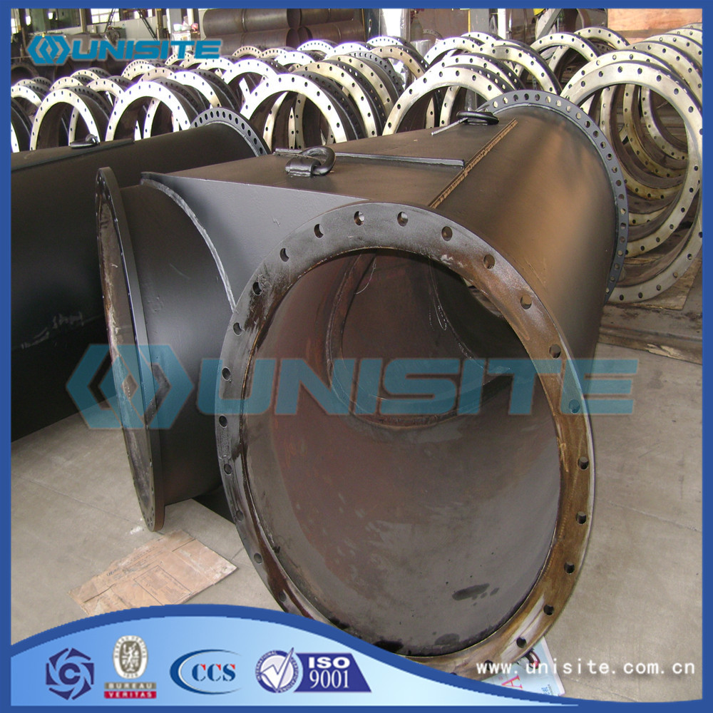 Y Exhaust Pipe with Flange for sale