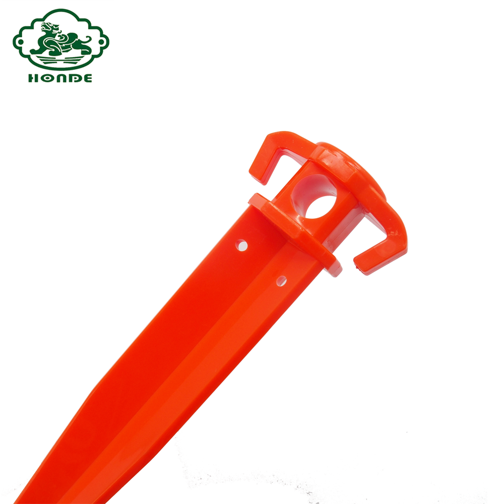 Luxury Plastic Tent Peg