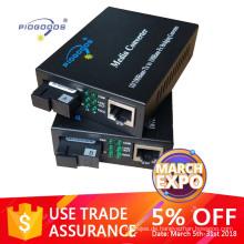 10 / 100M Singlemode 2 Ethernet-Ports LWL-Medienkonverter