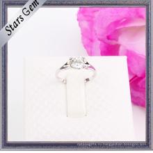 925 серебряных ювелирных изделий обручального кольца способа стерлингового серебра