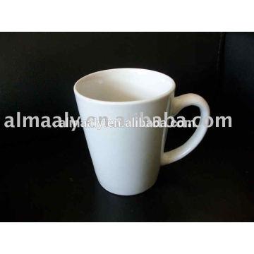 Кружка керамическая круглая 9oz, фарфоровая кружка, кружка кофе