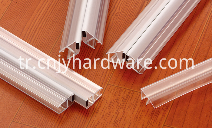Brand New waterproof glass edge guard trim seal strip Pvc Waterproof Seal Strip