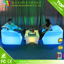 New Arrived LED Illuminated Hotel Sofa