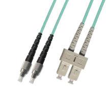 Certificado Ce / UL Sc a FC 10g Puente de fibra óptica multi-modo