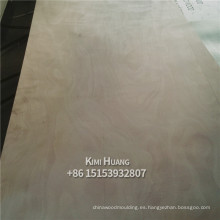 Madera contrachapada comercial / madera contrachapada bingtangor de 18 mm / madera contrachapada okoume