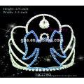 Корона в форме украшение кристалл короны и тиары тиара свадьба свадебный гребень тиара кристалл короны тиары для свадьбы