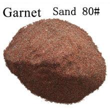 80 # Sand Blasting Granel abrasivo / 80 malla de chorro de agua de corte Garnet