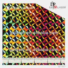 GZ--027 hologram nickel master shim with generic pattern