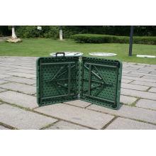 122 * 60 * 74cm Mesa del Ejército Verde / General Usado Mesa plegable de la maleta / Doblado al aire libre en la tabla de actividad media con cerradura y manija
