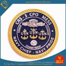Hacer la moneda del desafío Cheif de la Marina