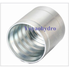 Steel Crimp Ferrule for Hydraulic Hose Fitting SAE 100 R2