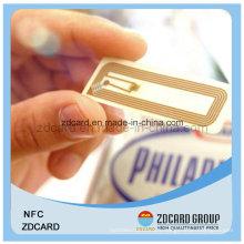 Code de contact RF RF sans contact / étiquette IC sans contact avec Chip