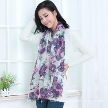 Wool Printed Shawl (13-BR020302-2.1)
