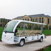 23 seats sightseeing electric car tourist car with door