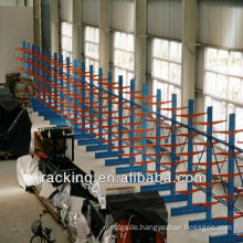 Jracking hydraulic trolley accessible racking shelving arm racking