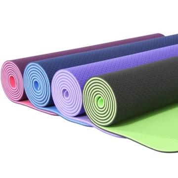 Нескользящий коврик для йоги TPE