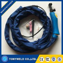 De buena calidad de gas enfriado soldadura tig linterna WP-9 tig serie