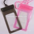 alta calidad lindo plástico pvc impermeable bolso promocional