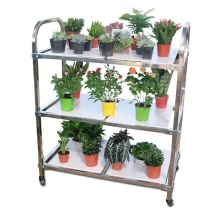 Cheap PriceList for Supply Greenhouse Movable Irrigation, Greenhouse Irrigation, Greenhouse Movable Watering of High Quality Greenhouse Transport Trolley Cart for Flower supply to Guyana Exporter