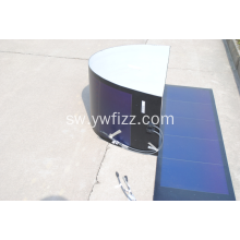 Flexible Solar Cell Module Roof PV