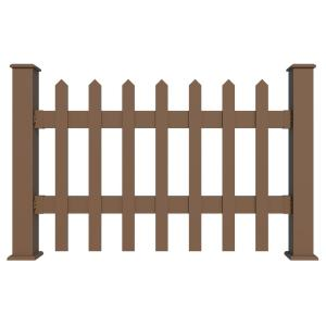 Anti-UV eco-friendly deck railing wood