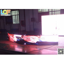 P7 Curve Led Display Outdoor Dip , 1r1g1b Full Color Video Wall