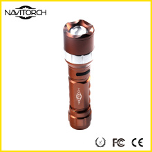CREE LED Rotating Zoom Aluminium Flashlight (NK-681)