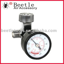 air regulator control air pressure with gauge