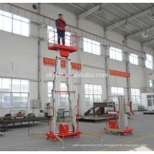 Jinan LEADER Mast climbing aerial work platform