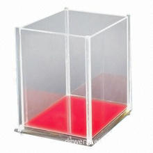 Acrylic cover, multipurpose to display delicate items, custom design welcomed