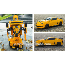 Factory price Remote Control Transformation Car wireless remote toy car car transform robot toy