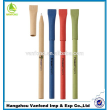 2015 hot selling fashion design cheap colorful 100% paper roll pen