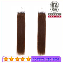 18/20inch All Colors Cuatomized Brazilian Human Virgin Easy Pull Knot Thread Hair Extension
