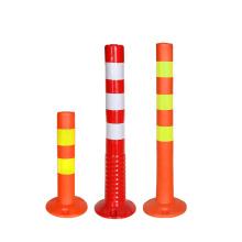 PU Flexible Elasticity Traffic Plastic Road Warning Post, Road Traffic Flexible Warning Post/
