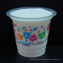 8oz tazas de plástico desechables para yogur